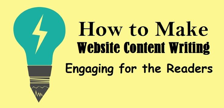 How to Make #Website #ContentWriting Engaging for the Readers – #content #marketingtips