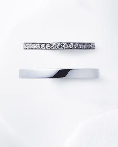 花麗 ストレートタイプ 結婚指輪 俄 NIWAKA スマートフォンサイト