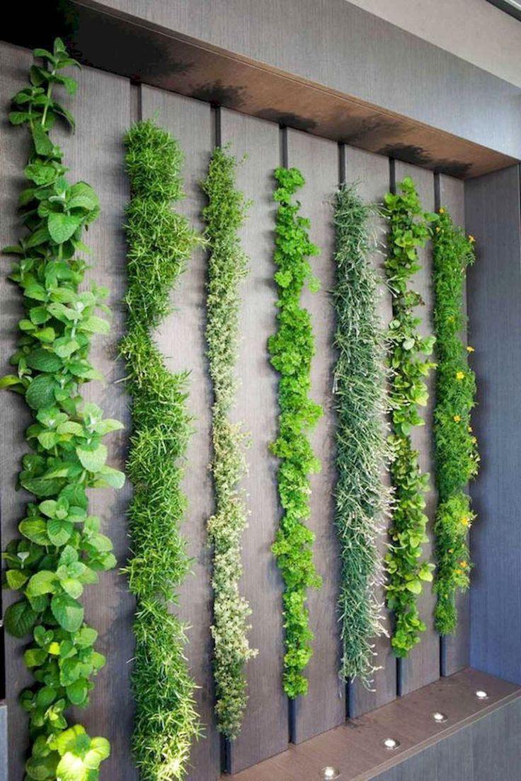 45 Best Indoor Garden For Apartment Design Ideas And Remodel Indoorgarden Gardenapartmentdesign Li Vertical Garden Diy Garden Wall Designs Garden Wall Decor