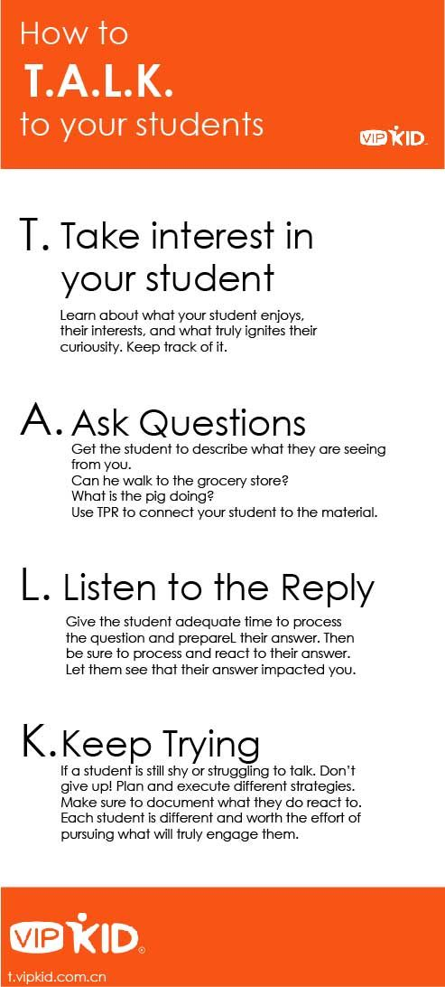 If your student is struggling to talk – there are multiple ways to use TALK to s…