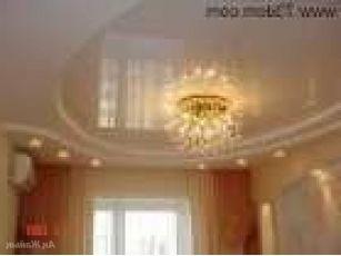 Навесные потолки на зал фото