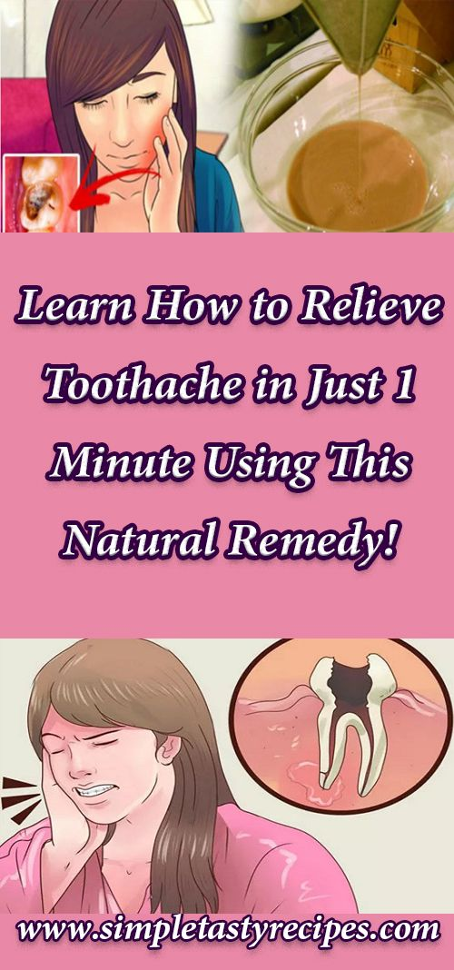 Learn How to Relieve Toothache in Just 1 Minute Using This Natural Remedy!