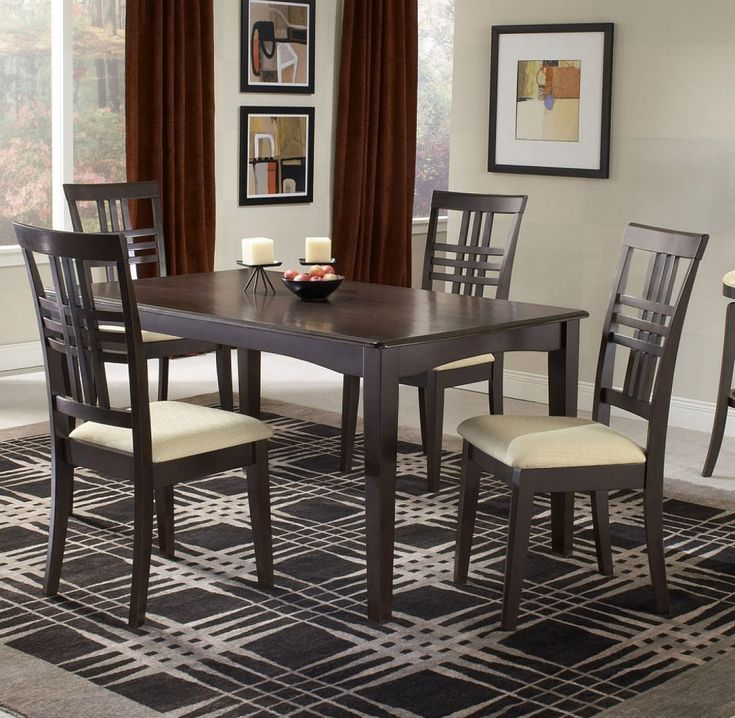 Extravagant Small Dining Room Sets Modern Style Wooden Accents Dinning Dinningtable Dinningroom