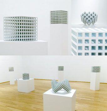 "Kamei Yoichiro,  ""Lattice Receptacle"" 2006 ARTCOURT Gallery"