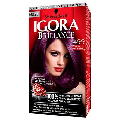 Tintura Permanente 499 Violeta Profundo IGORA BRILLANCE - Buscar con Google