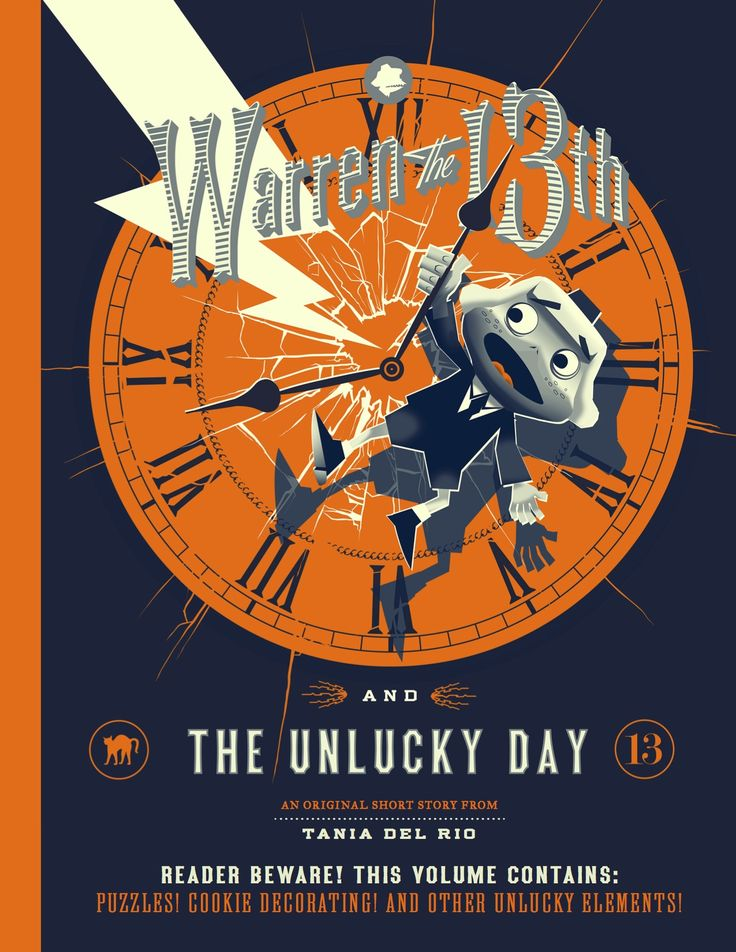 Warren the 13th and The Unlucky Day - an original story from Tania del Rio  #warrenthe13th #books #education