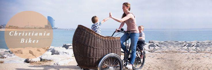 Christiania bike + hot air balloon-sized basket = amazing cargo bike!
