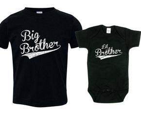 Big brother little brother shirts matching by TexasTeesPlus