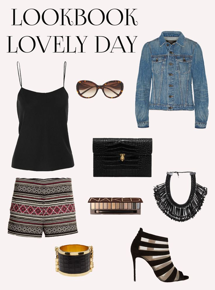 LookBook Lovely Day. Fun, easy to wear, stylish