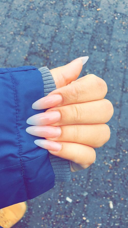 25 best ideas about natural almond nails on pinterest
