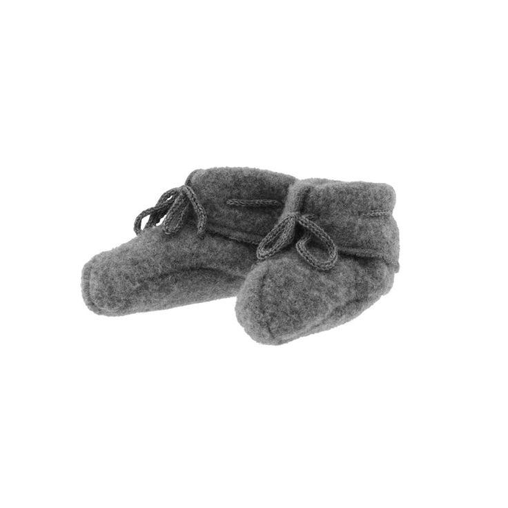 Babysokker, ullfleece: Myke sokker/labber i børstet ull. 100% merinoull. fra Nøstebarn.