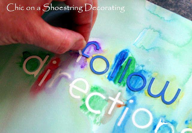 Watercolor Word Art - Design Dazzle