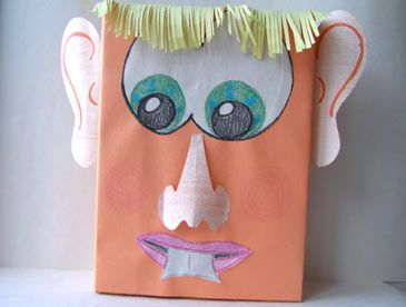 Make fun and creative crafts with your preschooler or toddler with simple items found around the house.
