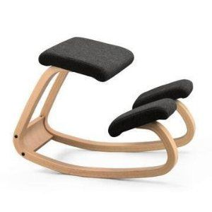 A friend of mine used to have one of these. Very comfortable and great for sitting up straight.