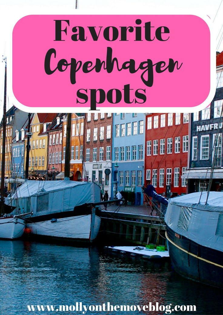 I studied abroad in Copenhagen for five months and fell in love. Click the pin for my favorite Copenhagen spots