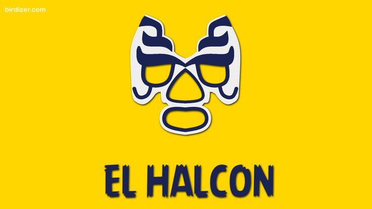 El Halcón máscara wallpaper