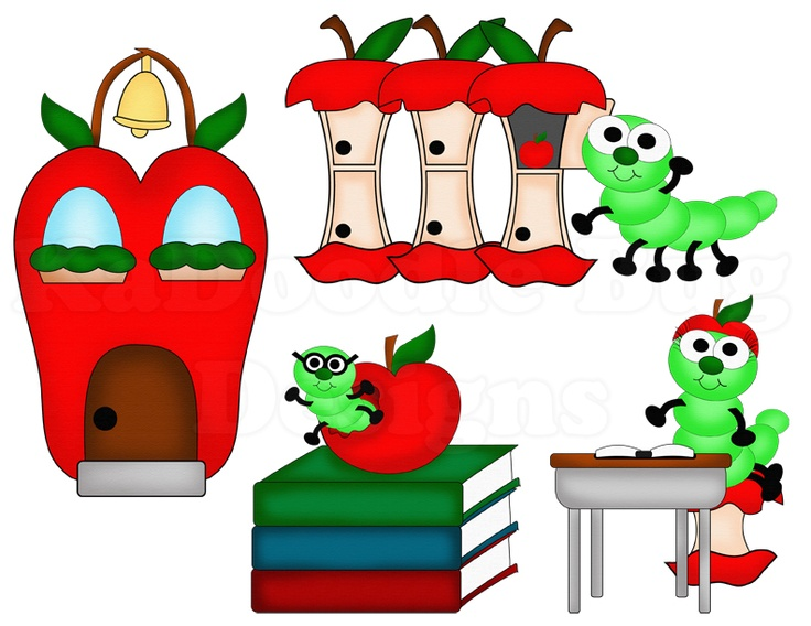 Apple-licious School Days  www.kadoodlebugdesigns.com