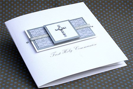 "Handmade Holy Communion Card ""First Holy Communion"""