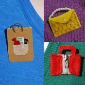 Bag Badges - via @Craftsy