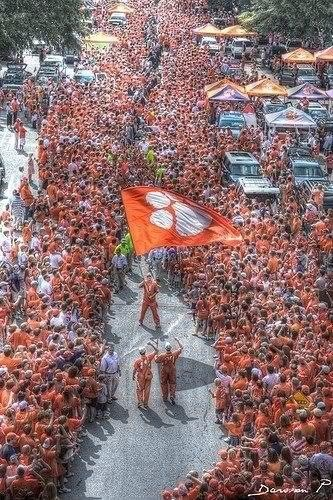 Clemson Game Day! Nothing on Earth like it!