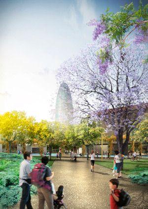CREUSCERDÀ - Finalist project Plaza las Glorias Competition