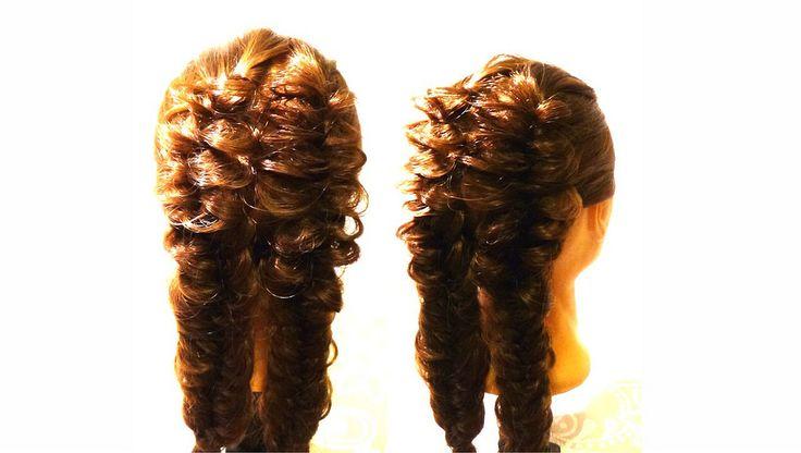 https://flic.kr/p/fAbtbn | hairstyles for long hair | Двойная коса на длинные волосы