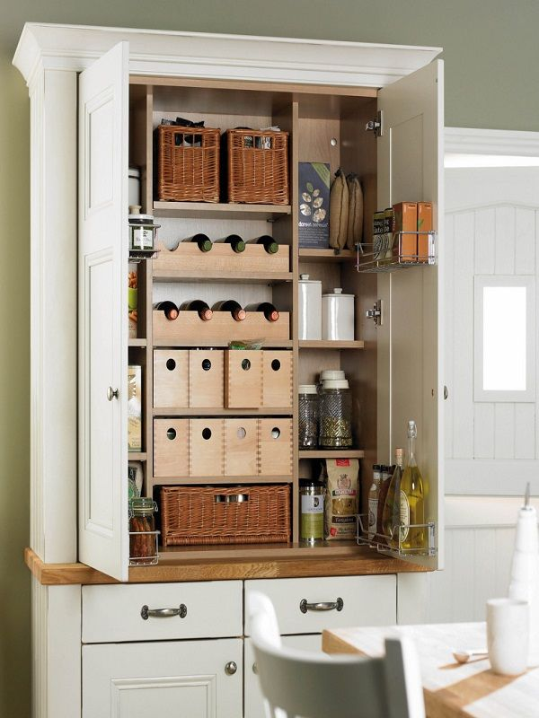 30+ Stand Alone Pantry | White kitchen pantry cabinet ...