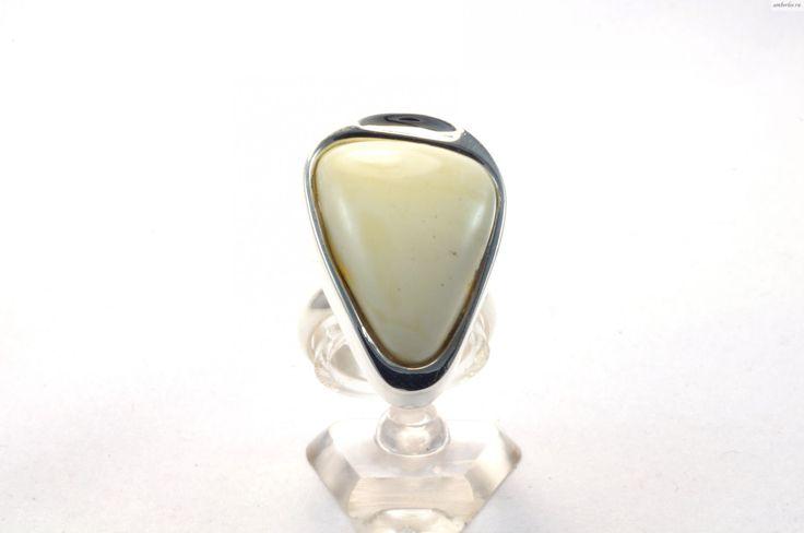 Кольцо янтарное, янтарные украшения