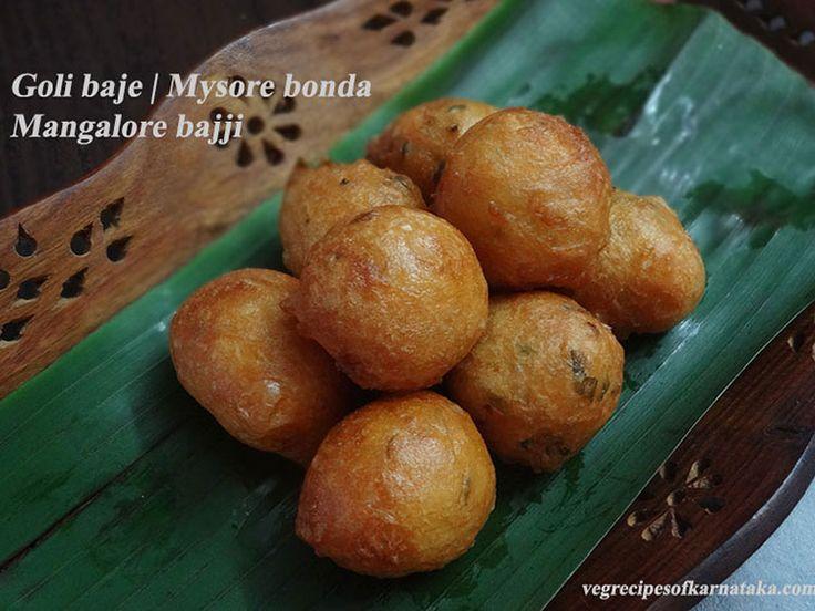 Goli baje or mangalore bajji recipe explained with step by step pictures. Goli baje or Mangalore bajji or Mangalore bonda is a mouth watering recipe from Mangalore. Goli baje or mangalore bajji is my favourite.