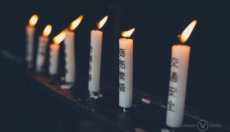 Bougies, Japon // Candles, Japan