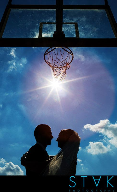 Debra + Denby's #Wedding with a touch of a basketball theme! www.getstak.com