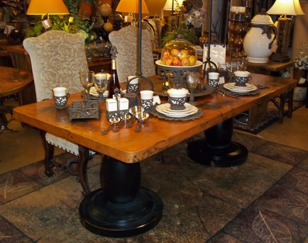 hand hammered copper dining table wood pedestal base 1 double base with rectangle. beautiful ideas. Home Design Ideas