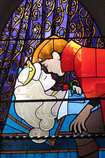 Sleeping Beauty Stained Glass, Disneyland Paris