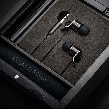 "Chord & Major tonal earphones - model Major 8'13 (for Rock music). The world's first Tonal Earphones.  Chord & Major's Major 9'13 (for classical music) wins the ""Diapason D'OR"" Award from the prestigious French music magazine, Diapason!"