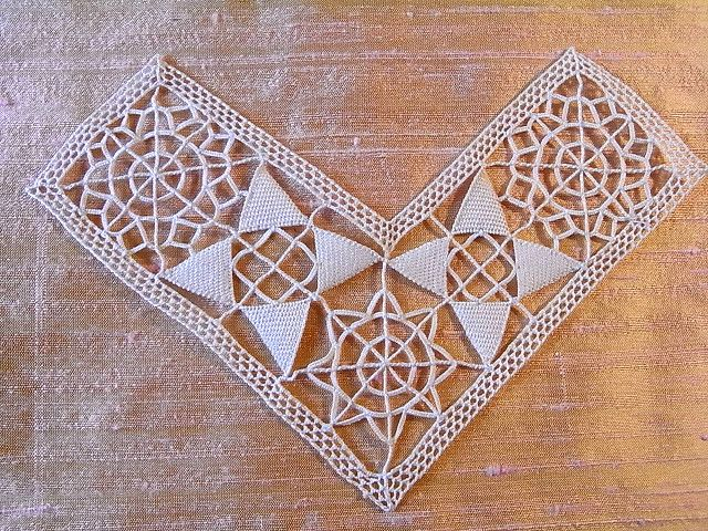 antique needle made lace