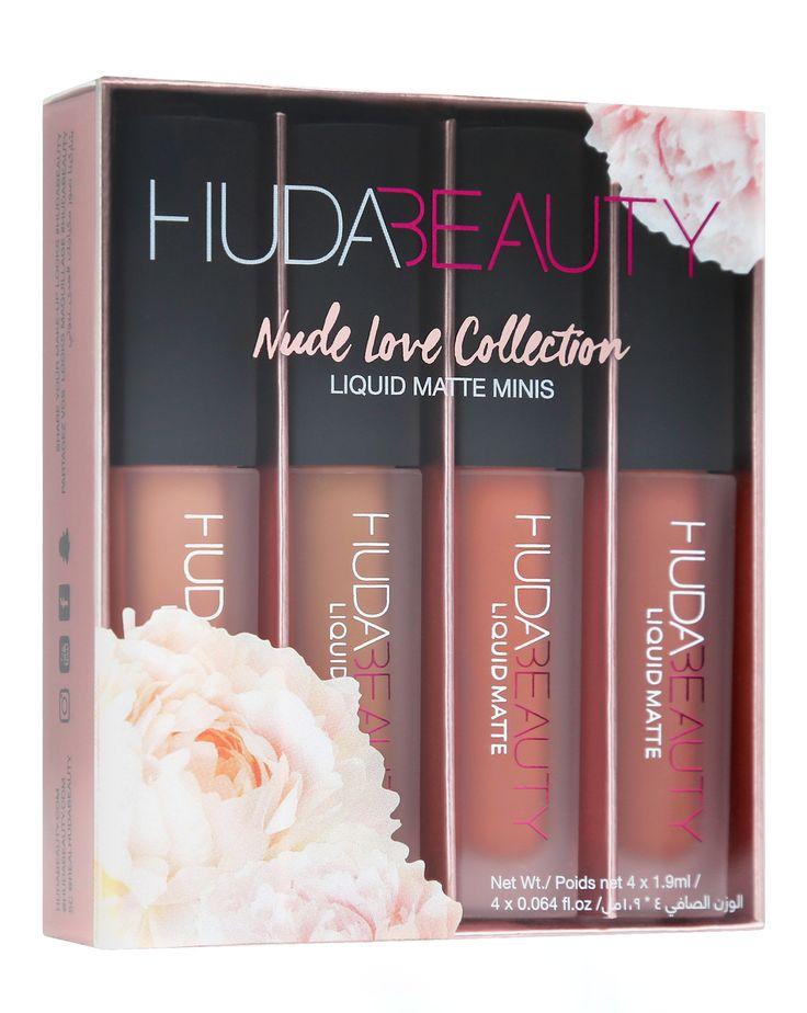 Huda Beauty | Liquid Matte Minis – Nude Love Collection | Cult Beauty