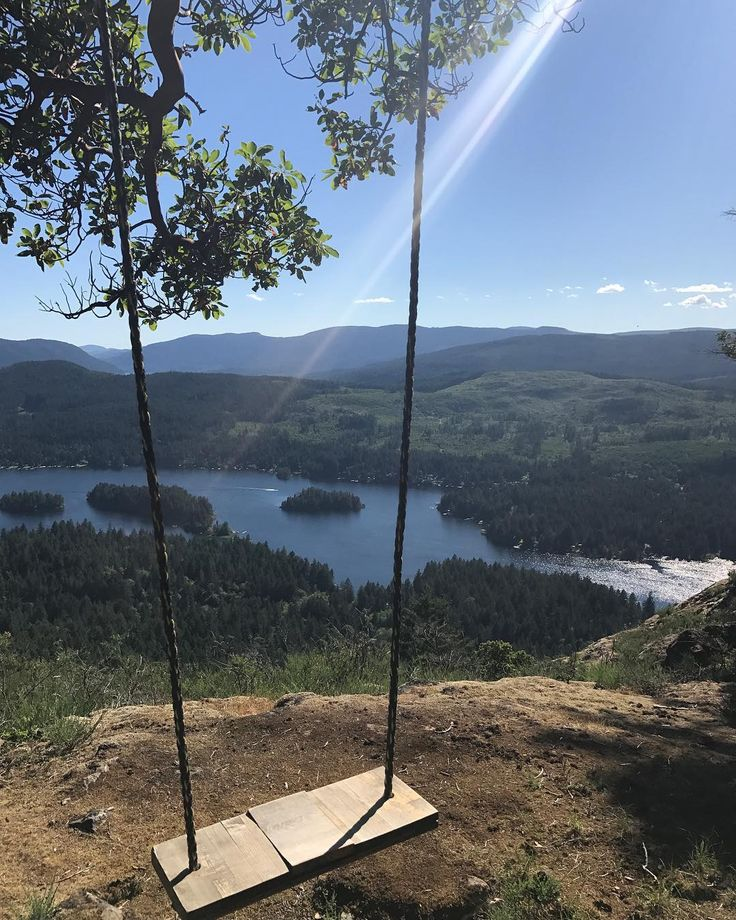 This BC Hike Leads To A Secret Swing With The Most Breathtaking Views - Narcity
