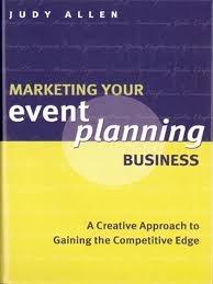 Marketing your Event Planning Business - Judy Allen, event planning book