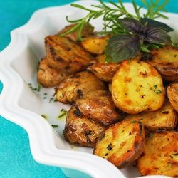 Grill-roasted Rosemary Potatoes | Yummy | Pinterest