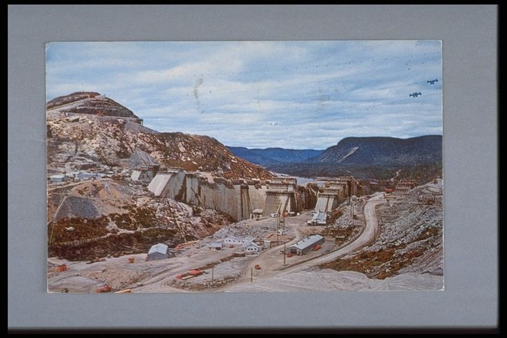 Construction of the Manic 5 Dam in Northern Quebec