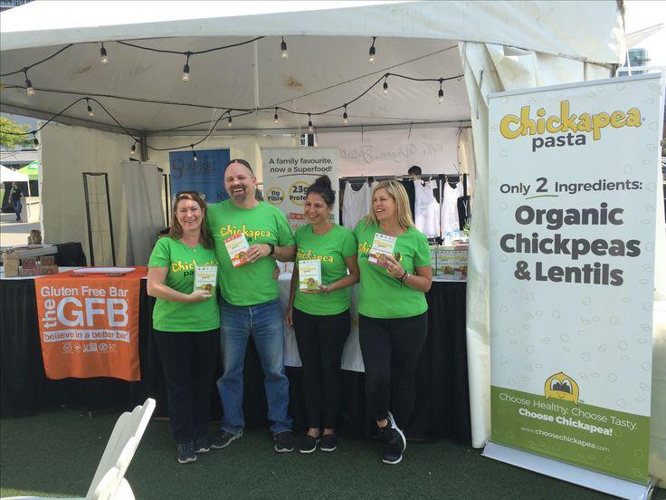 The #Chickapea gang at Veg-Fest Toronto 2017