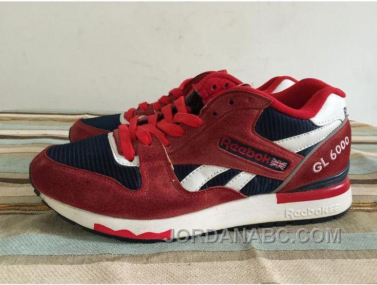 http://www.jordanabc.com/reebok-gl-6000-red-black-white-running-sneakers-on-sale.html REEBOK GL 6000 RED BLACK WHITE RUNNING SNEAKERS ON SALE Only $46.00 , Free Shipping!