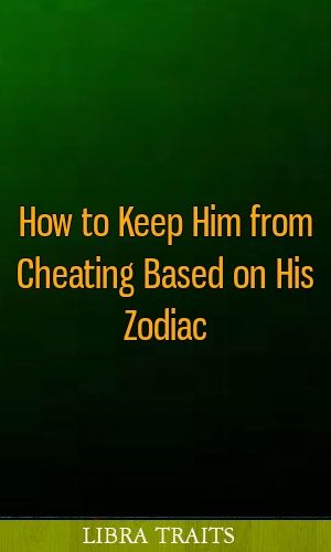 how to keep him from cheating