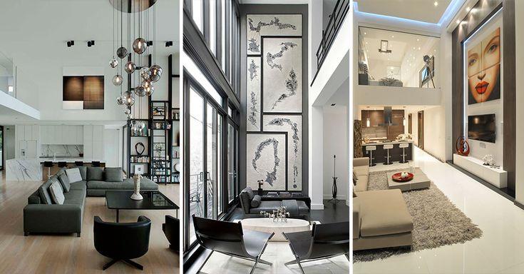 25 beste idee n over hoog plafond decor op pinterest open keuken lay outs huiselijke keuken - Outs kleine ruimte ...