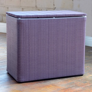 @Overstock - This contemporary hamper will be a bright asset to your laundry or kids room. This convenient furniture can also double as a bench for additional seating.     http://www.overstock.com/Home-Garden/1530-LaMont-Home-Brights-Grape-Bench-Hamper/6728670/product.html?CID=214117 $69.99