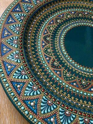 17 best images about pooja thali on pinterest copper for Aarti dish decoration