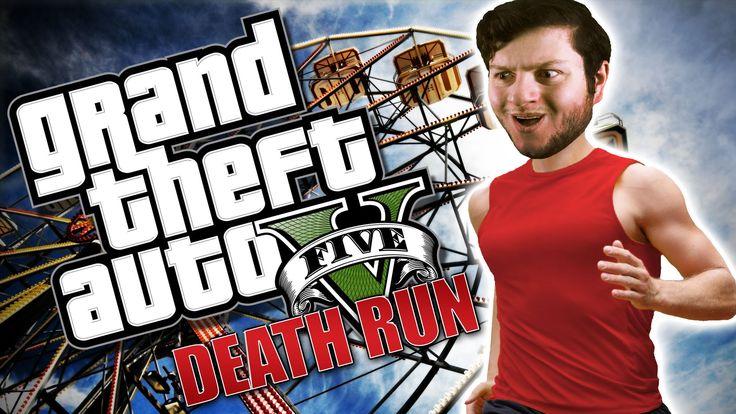GTA 5 PC Online Funny Moments - FERRIS WHEEL DEATH RUN! (Custom Games)