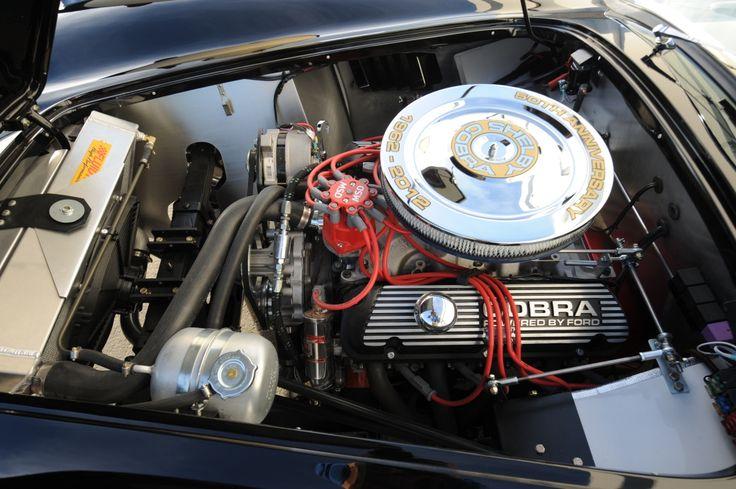 shelby 289 ac cobra engine bay cars pinterest high