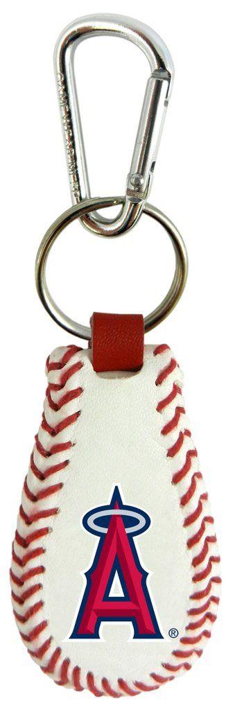 Los Angeles Angels Baseball Keychain