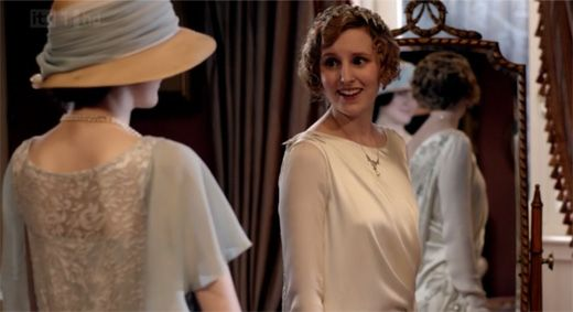 Edith gets ready to wed on Downton Abbey Season 3 Episode 3